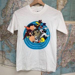 NWT Vintage Warner Brothers looney tunes T-shirt